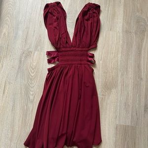 Mini Red Express Dress